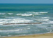 Sea from Ardizio Royalty Free Stock Photo