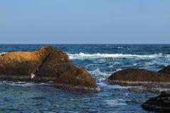 Sea and autumn Stock Image