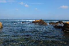 Sea and autumn Royalty Free Stock Photos