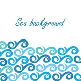 Sea background with Stock Photography