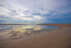 Sea. Background bay beach beautiful beauty blue chaam clear cloud coast day dominican good Stock Photos