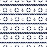 Sea background in dark blue and white colors Royalty Free Stock Images