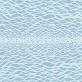 Sea background. Hand drawn  illustration Stock Photo