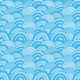 Sea background. Hand drawn  illustration Stock Photos