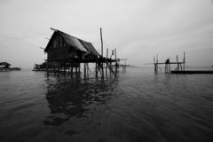 Sea Bajau's House Stock Photos