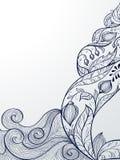 Sea banner royalty free illustration