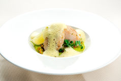 Sea bass fillet Royalty Free Stock Image