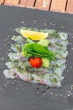 Sea bass sashimi Royalty Free Stock Photo