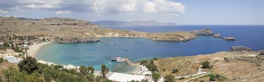Sea,Bay,Lindos,Greece. Stock Image