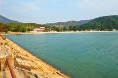 Sea Bay of Mui Wo Stock Photography