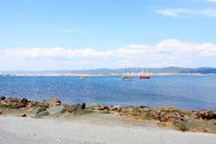 Sea Bay in Nessebar Royalty Free Stock Photography