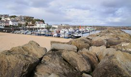 Sea bay Stock Images