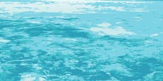 Sea_bay_texture ελεύθερη απεικόνιση δικαιώματος
