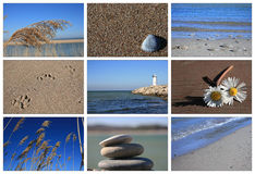 Sea And Beach Stock Photography