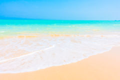 Sea and beach Stock Images
