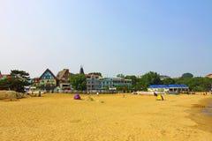The sea beach royalty free stock image