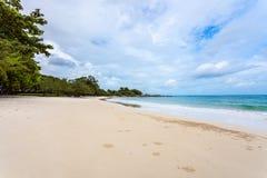 Sea beach blue sky sand Stock Photo