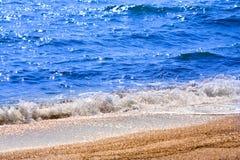 Sea beach close up Stock Photos