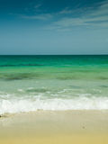 Sea beach. Crystal clear beach from thailand Royalty Free Stock Image