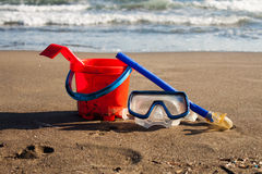 Sea and beach Royalty Free Stock Image