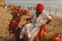Sea Beach of Gujarat Stock Photo