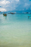 Sea beach at Lipe island in Thailand. Beautiful sea at Lipe Island in Thailand Stock Photo