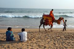 Sea Beach of Orissa Royalty Free Stock Photo