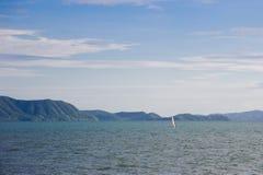 Sea beach sailboat summer beautiful Stock Photo