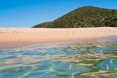 Sea and beach in Sardinia Stock Photos
