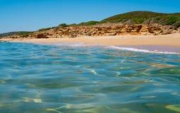 Sea and beach in Sardinia Stock Image