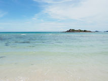 Sea and beach of Sattahip , Thailand Stock Photos