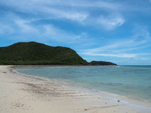 Sea and beach of Sattahip , Thailand Royalty Free Stock Photo