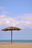 Sea beach sunshade Stock Photography