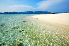 Sea beach in Thailand Royalty Free Stock Images