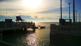 Sea beach Thailand Chonburi Royalty Free Stock Photo