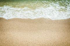 Sea and the beach Stock Photography