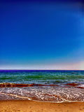 Sea and beach Stock Image