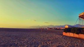 Sea beach, Vireggio, Lucca, Italy stock photo