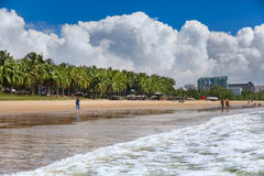 Sea beach  water landscape Hainan China Royalty Free Stock Photos