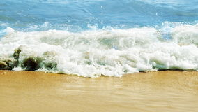Sea, beach, waves royalty free stock photography