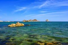 Sea and beach. Sea beach. Sea waves. Ocean Royalty Free Stock Photo