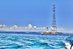 Sea beacon Royalty Free Stock Images