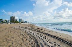 Sea. The beautiful sea in FFL, Florida USA Royalty Free Stock Photo