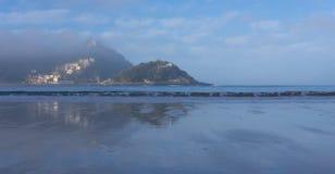 Sea and beautiful island with beach Royalty Free Stock Photo