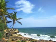 Sea. Best sea view point near vizhinjam port royalty free stock image