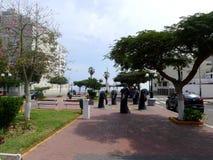 Sea birds statues in Barranco district of Lima, Peru Stock Image