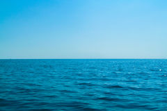 Sea. Black sea, the line of horizon Royalty Free Stock Photos