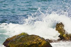 Sea Blue Background Royalty Free Stock Photography