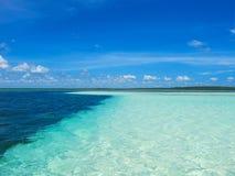 Sea. Blue ocean and azure sea Stock Image