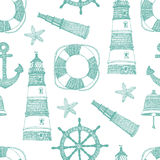 Sea blue pattern Royalty Free Stock Image